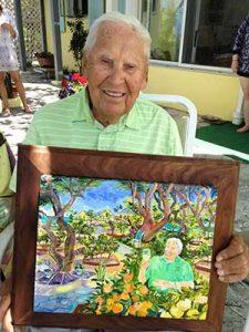 Joseph Kazicka, 95th Birthday